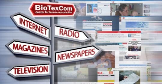 Das Image von BioTexCom in den internationalen Medien