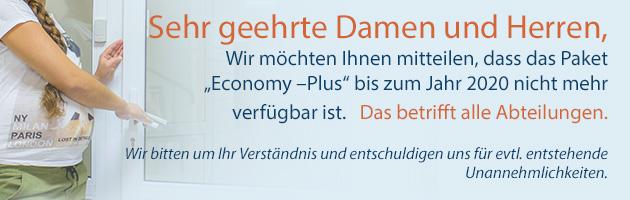 das Paket Economy –Plus