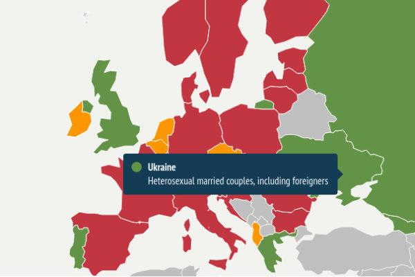 Wo in Europa ist Leihmutterschaft erlaubt?